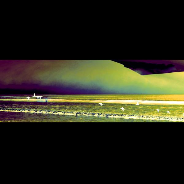 Connemara Beach Scarf by RedRhino Original Photo