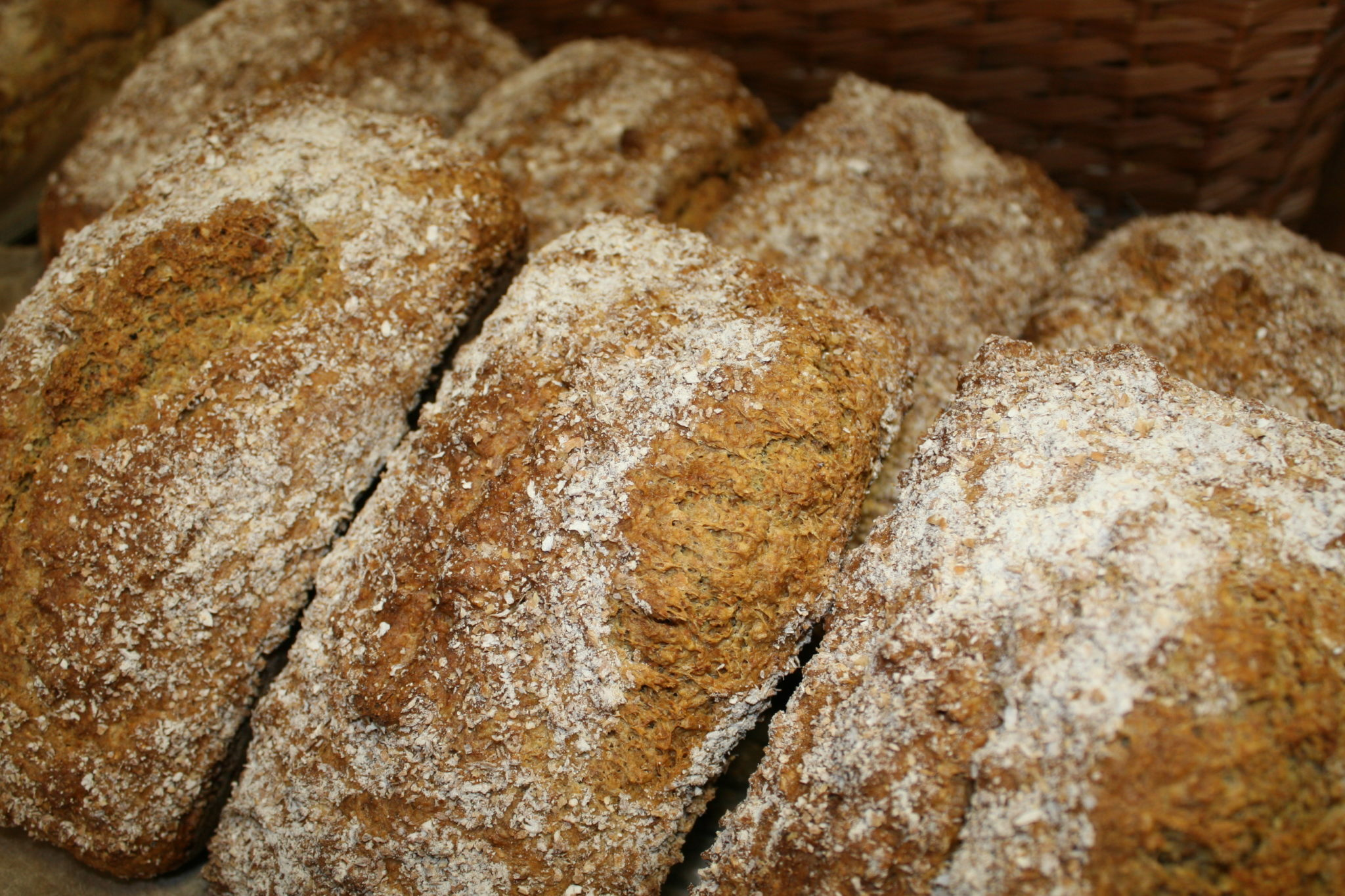 Homemade Brown Bread Made In Shop