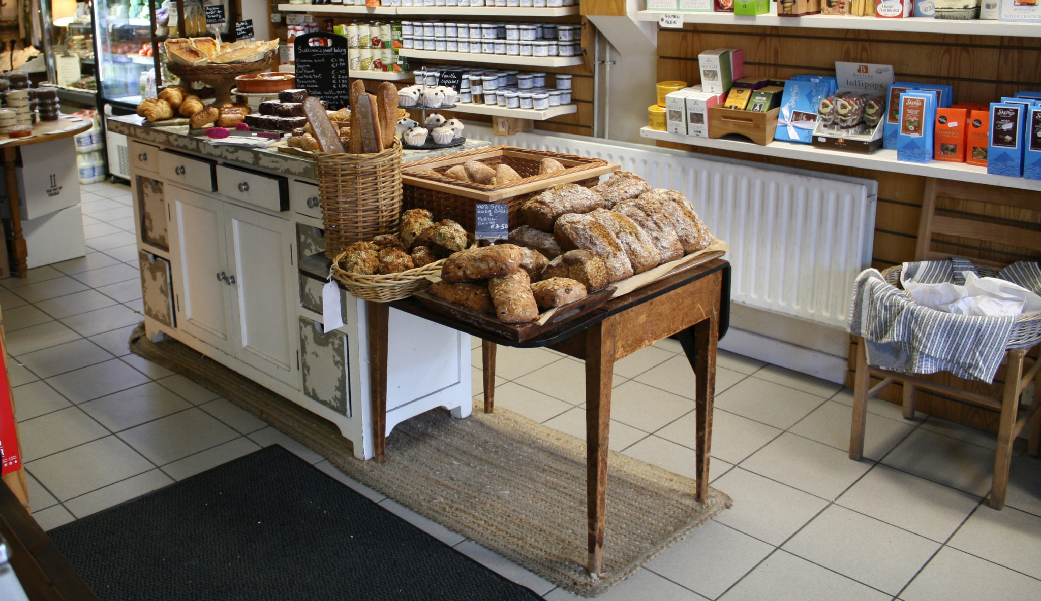 Fresh Baked by Hand in Shop at Sullivans Country Grocer