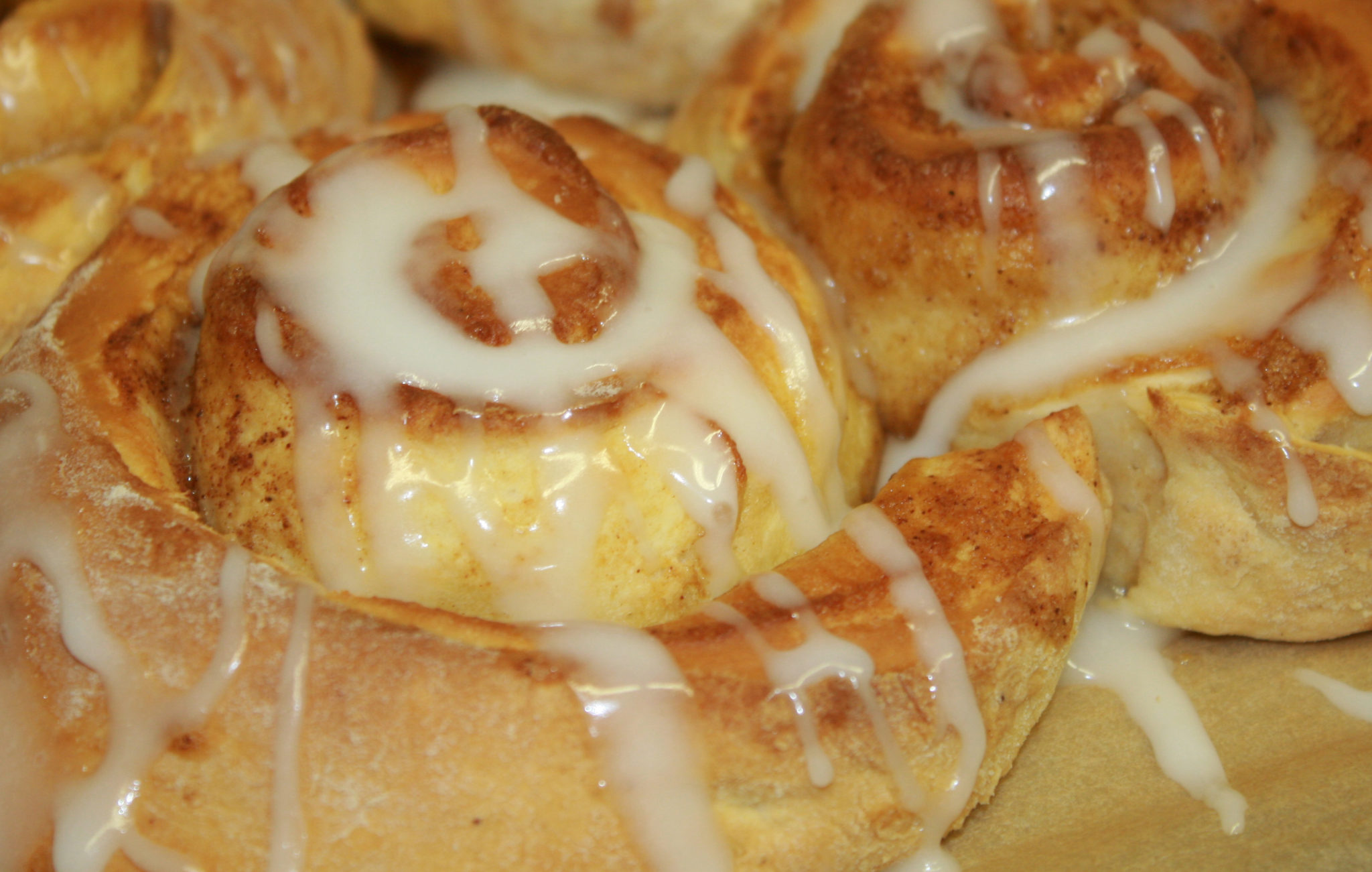 Cinnamon Swirls Fresh Baked 7 days a week at Sullivans Country Grocer