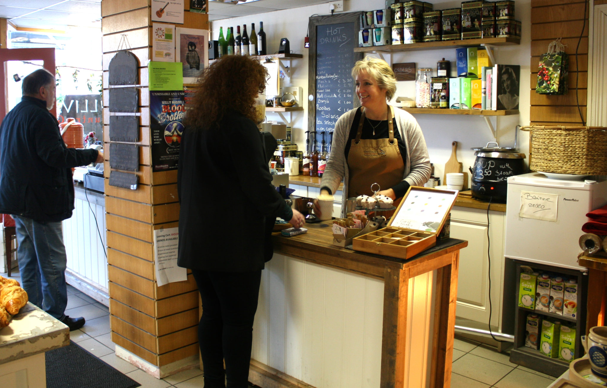 Sullivans Country Grocer is an old style grocer with seriously good coffee