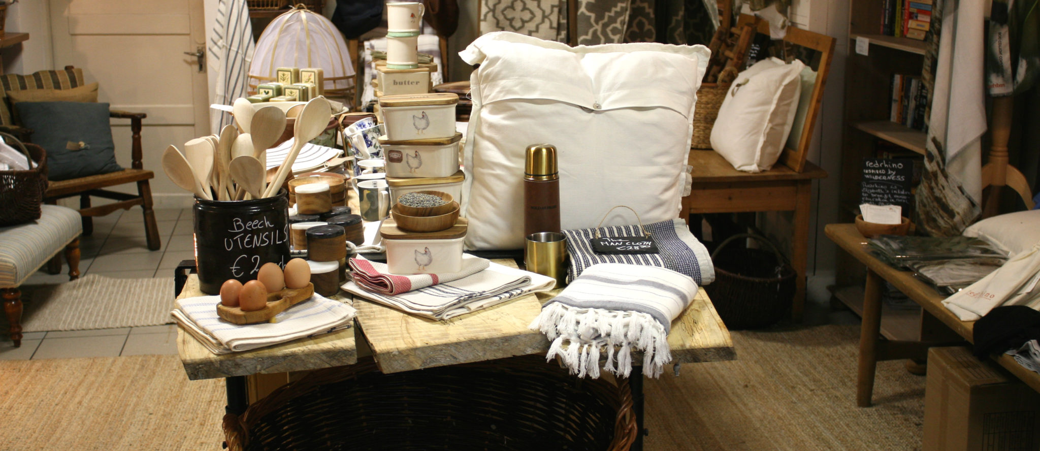 Kitchen Textiles at Sullivans Country Grocer